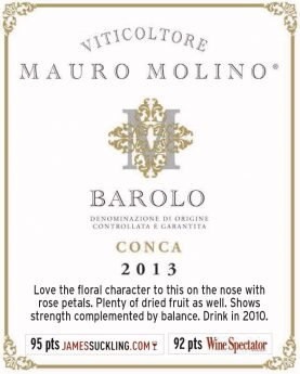 Barolo Conca 2013 - Shel talker